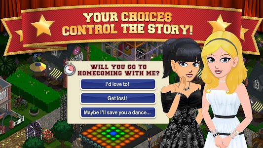 screenshot of High School Story version 5.1.0