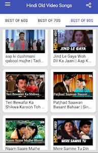 screenshot of Hindi Old Songs Video version 1.1.2