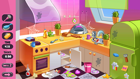 screenshot of House Room Cleaning Simulator Game For Kids version 1.0