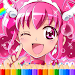 How To Color Pretty Cure