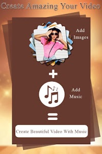 screenshot of Image to Video Maker with Music version 1.6
