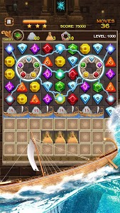 screenshot of Jewel Ancient: find treasure in Pyramid version 2.1.8'