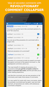 screenshot of Joey for Reddit version 1.7.6.4