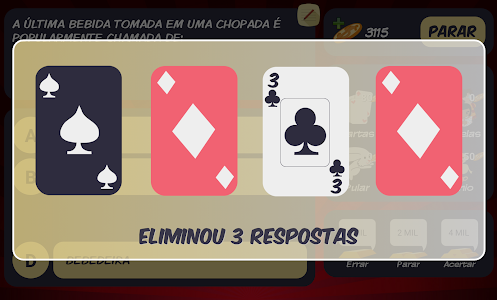 screenshot of Jogo do Bilhão 2017 version 3.0.6