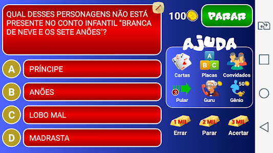 screenshot of Jogo do Bilhão 2015 version 2.0.0