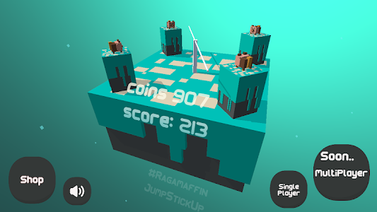 screenshot of JumpStick version 0.8