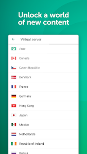 screenshot of Fast VPN & Proxy – Kaspersky Secure Connection version 1.6.0.844