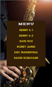 screenshot of Saxophone Kenny G & Friends version 1.3