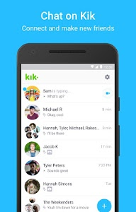 screenshot of Kik version 15.21.0.22201