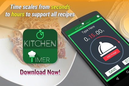 screenshot of Kitchen Timer version 1.1
