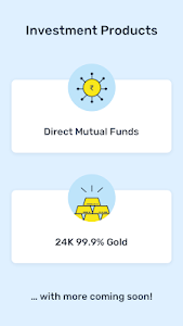 screenshot of Kuvera Direct Mutual Fund App version 1.143.0