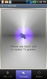 screenshot of LG TV Remote 2011 version 2.3(2013.01.07)