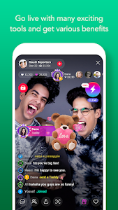 screenshot of LINE LIVE: Broadcast your life version 2.3.0