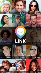screenshot of LINK - with people nearby version 1.7.7