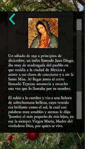 screenshot of La Virgen De Guadalupe version 2