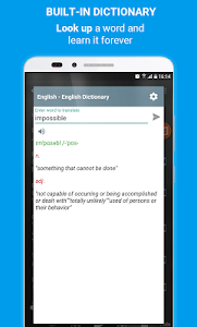 screenshot of Learn English Listening: Learning English Podcast version 4.5.4