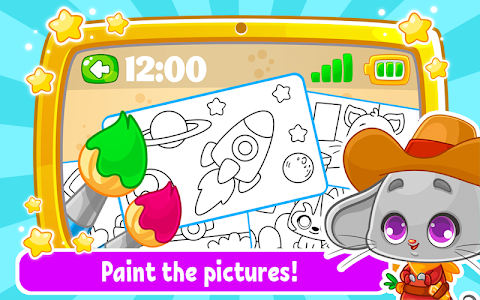 screenshot of Babyphone & tablet - baby learning games, drawing version 1.9.7