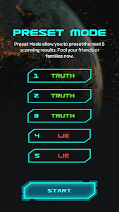 screenshot of Lie Detector Test Prank - Fingerprint Scanner version 1.0.2