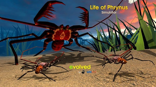 screenshot of Life of Phrynus - Whip Spider version 2.0