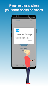 screenshot of myQ: Smart Garage & Access Control version 5.156.40997