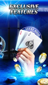 screenshot of Live Hold'em Pro Poker - Free Casino Games version Varies with device