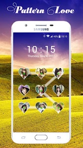 screenshot of Lock screen pattern photo version 1.3.4