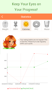 screenshot of Lose weight without dieting version 5.23