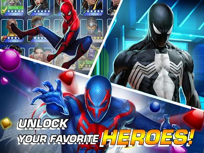 screenshot of MARVEL Puzzle Quest: Join the Super Hero Battle! version 203.529958