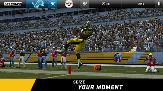 screenshot of Madden NFL Overdrive Football version 5.4.1