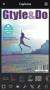 screenshot of Magazine Cover Maker - Photo Superstar Fake Style version 5.5