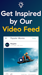 screenshot of Magisto - Video Editor & Music Slideshow Maker version 4.61.2.20278