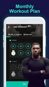 screenshot of Man Workouts - Abs Workout & Building Muscle version 1.1.4
