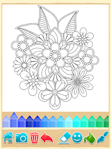 screenshot of Mandala Coloring Pages version 8.4.0