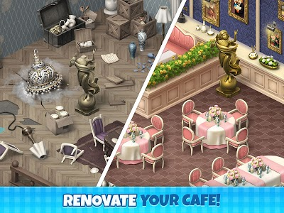 screenshot of Manor Cafe version 1.43.11