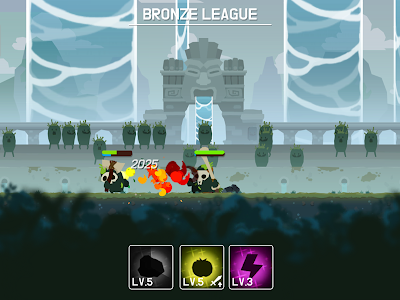 screenshot of Marimo League : Be God, show Miracles on battles! version 1.4.3