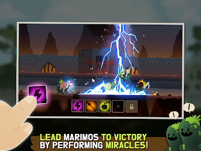 screenshot of Marimo League : Be God, show Miracles on battles! version 1.7.0