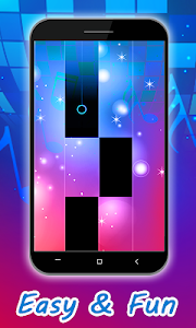 screenshot of Marshmello - Anne-Marie - FRIENDS Piano Tiles version 1