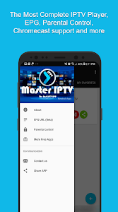 screenshot of Master IPTV Player: Best Player with EPG and Cast version 2.0.6