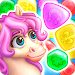 Download Match3 Magic: Prince unicorn lovely story quest 1.02 APK