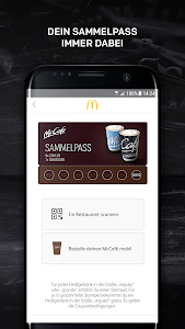 screenshot of McDonald's Deutschland version 5.5.2.34956