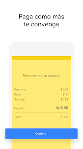 screenshot of Mercado Libre version 7.12.2