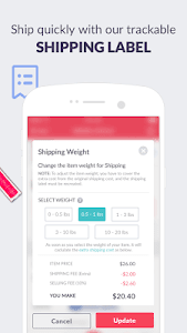 screenshot of Mercari: Buy & Sell Things You Love version Varies with device