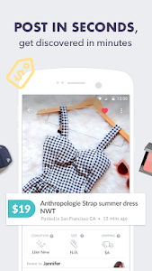 screenshot of Mercari: Buy & Sell Anywhere version Varies with device