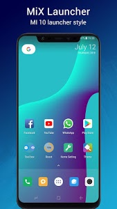 screenshot of Mi X Launcher ? - MI 10 Launcher + version 1.9