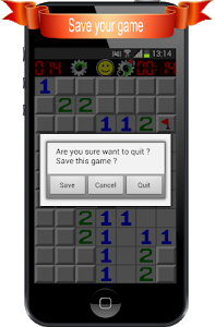 screenshot of Minesweeper version 1.7.5