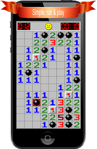 screenshot of Minesweeper version 1.9.7