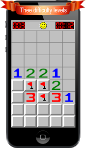 screenshot of Minesweeper version 1.4.22
