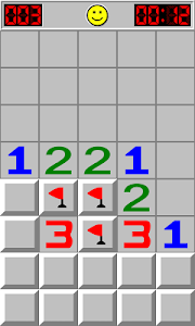 screenshot of Minesweeper version 1.8.3