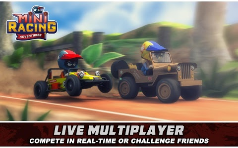 screenshot of Mini Racing Adventures version 1.22.1