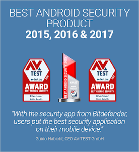 screenshot of Bitdefender Mobile Security & Antivirus version 3.3.023.543